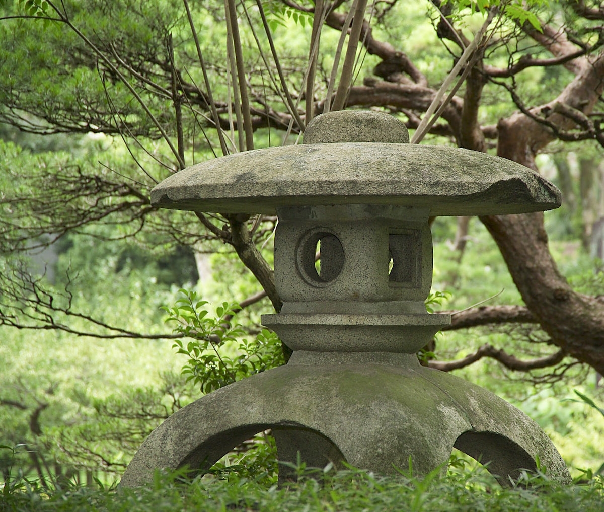 Tōrō – Wikipedia In Outdoor Japanese Lanterns (View 8 of 20)