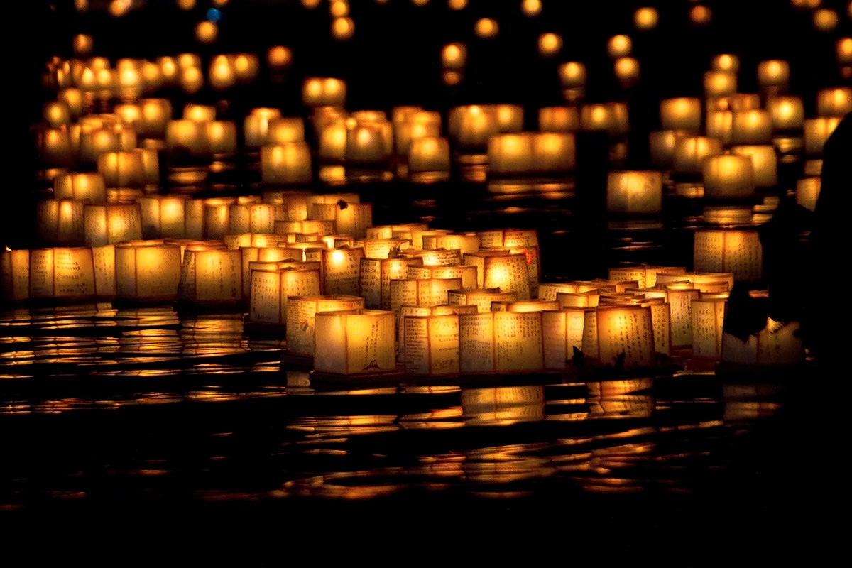 Touching Scenes From Lantern Floating Hawaii 2018 | Hawaii Magazine within Outdoor Memorial Lanterns (Image 20 of 20)