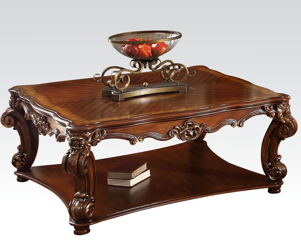 Traditional Coffee Table Sets Latest Photos Nor Square Vendome for Traditional Coffee Tables (Image 25 of 30)