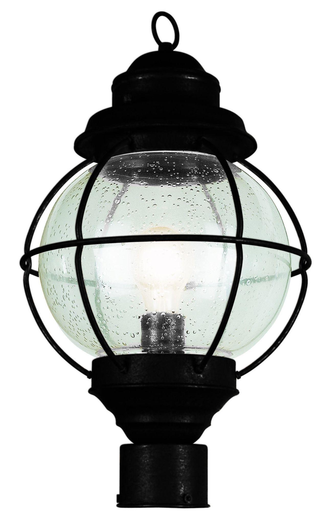 "Trans Globe Lighting 69902 Bk Onion Lantern Post Top 15"" Black pertaining to Outdoor Lighting Onion Lanterns (Image 18 of 20)"