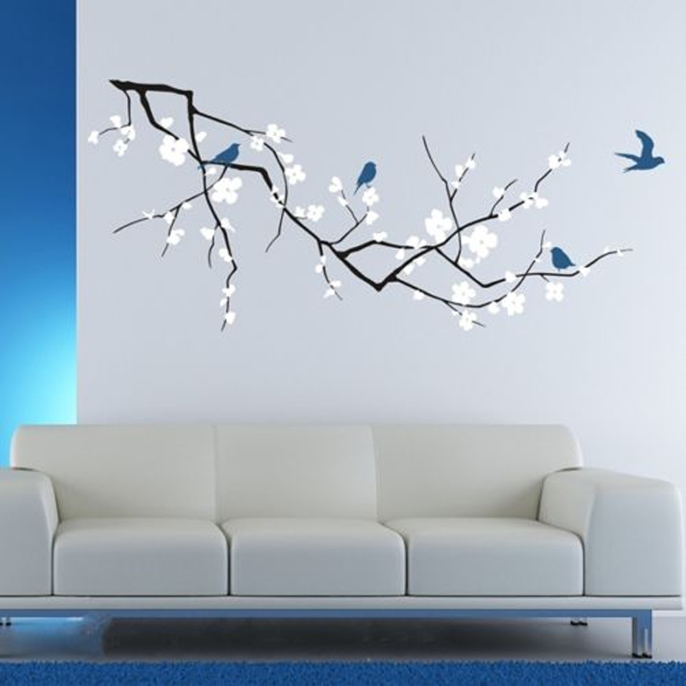 Tree Cherry Blossom Wall Art : Andrews Living Arts - Very Attractive intended for Cherry Blossom Wall Art (Image 20 of 20)