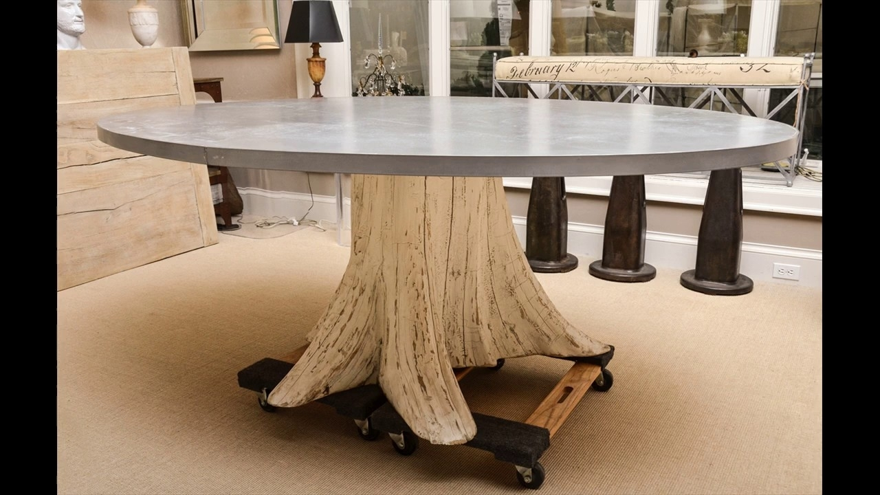 Tree Trunk Coffee Table Ideas – Youtube With Regard To Sliced Trunk Coffee Tables (View 22 of 30)