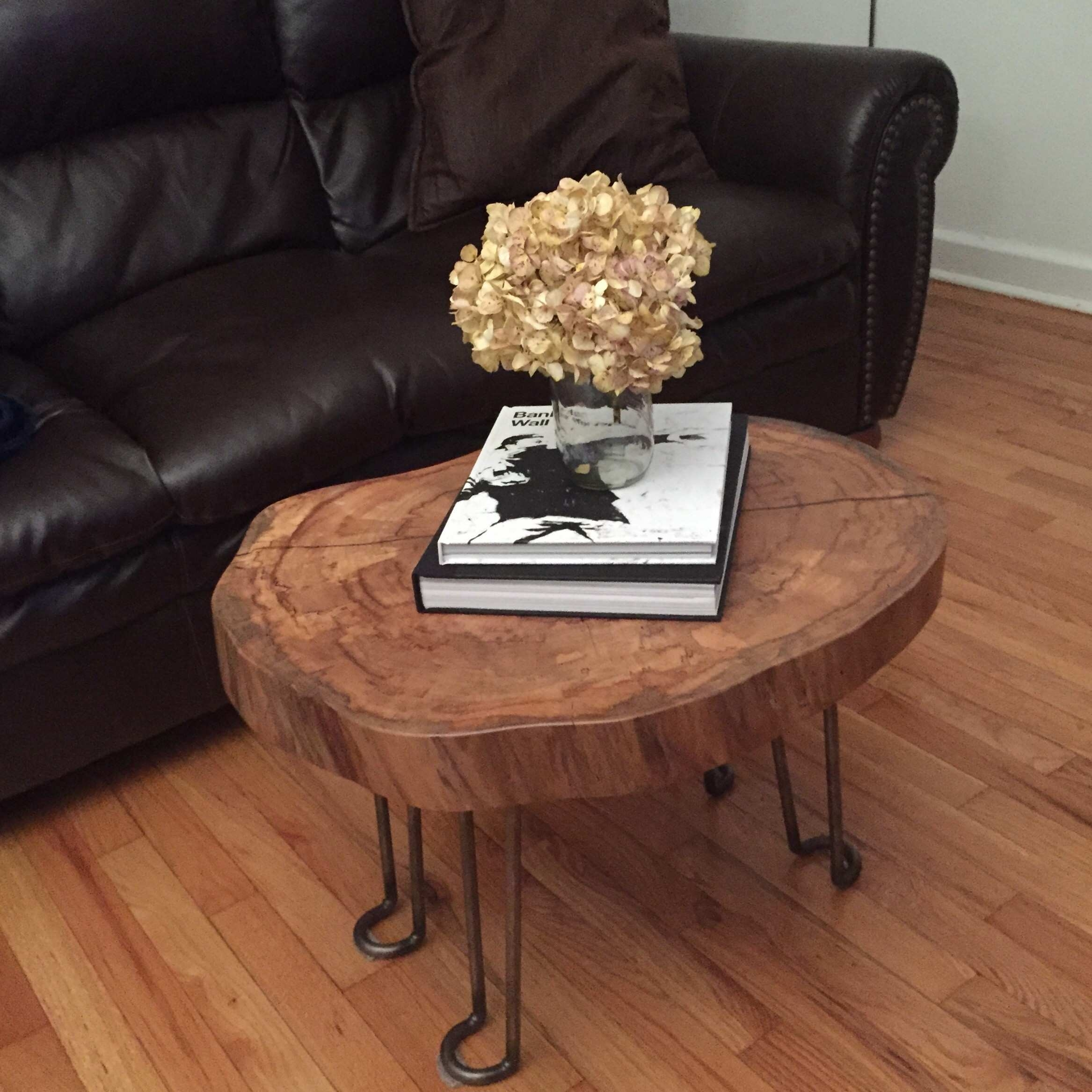Tree Trunk Slices Table Tops Luxury Beautiful Design Diy Coffee With Sliced Trunk Coffee Tables (View 28 of 30)