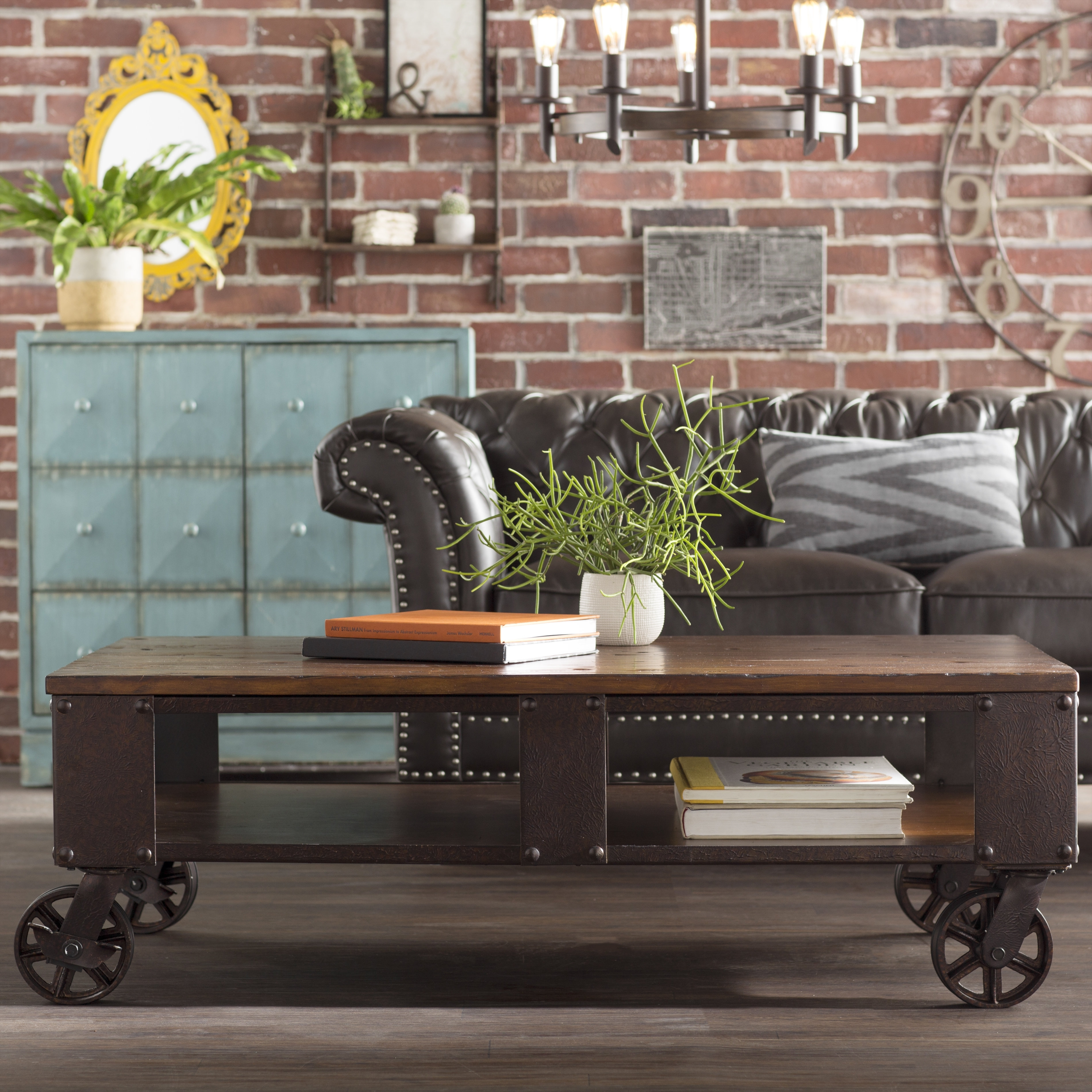 Trent Austin Design Beckfield Coffee Table & Reviews | Wayfair pertaining to Expressionist Coffee Tables (Image 25 of 30)