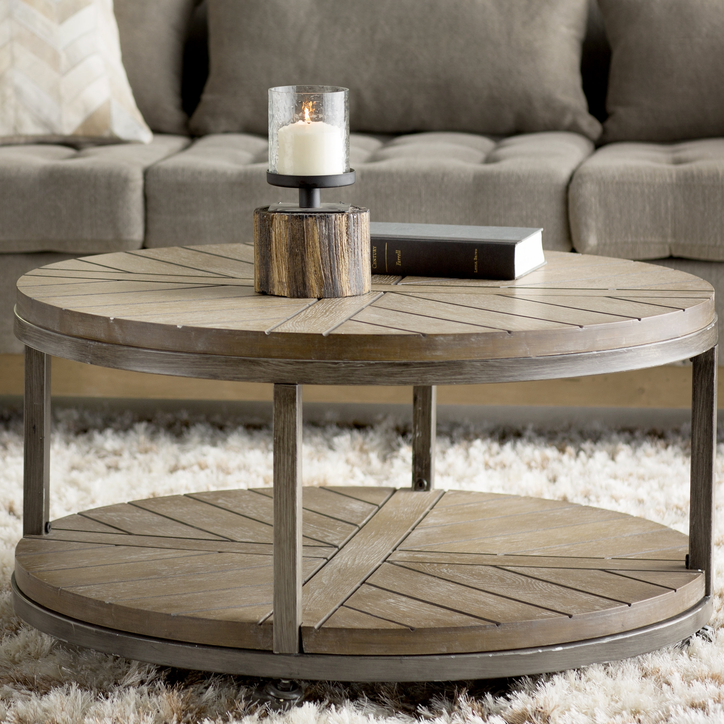 Trent Austin Design Drossett Coffee Table & Reviews | Wayfair pertaining to Go-Cart White Rolling Coffee Tables (Image 29 of 30)