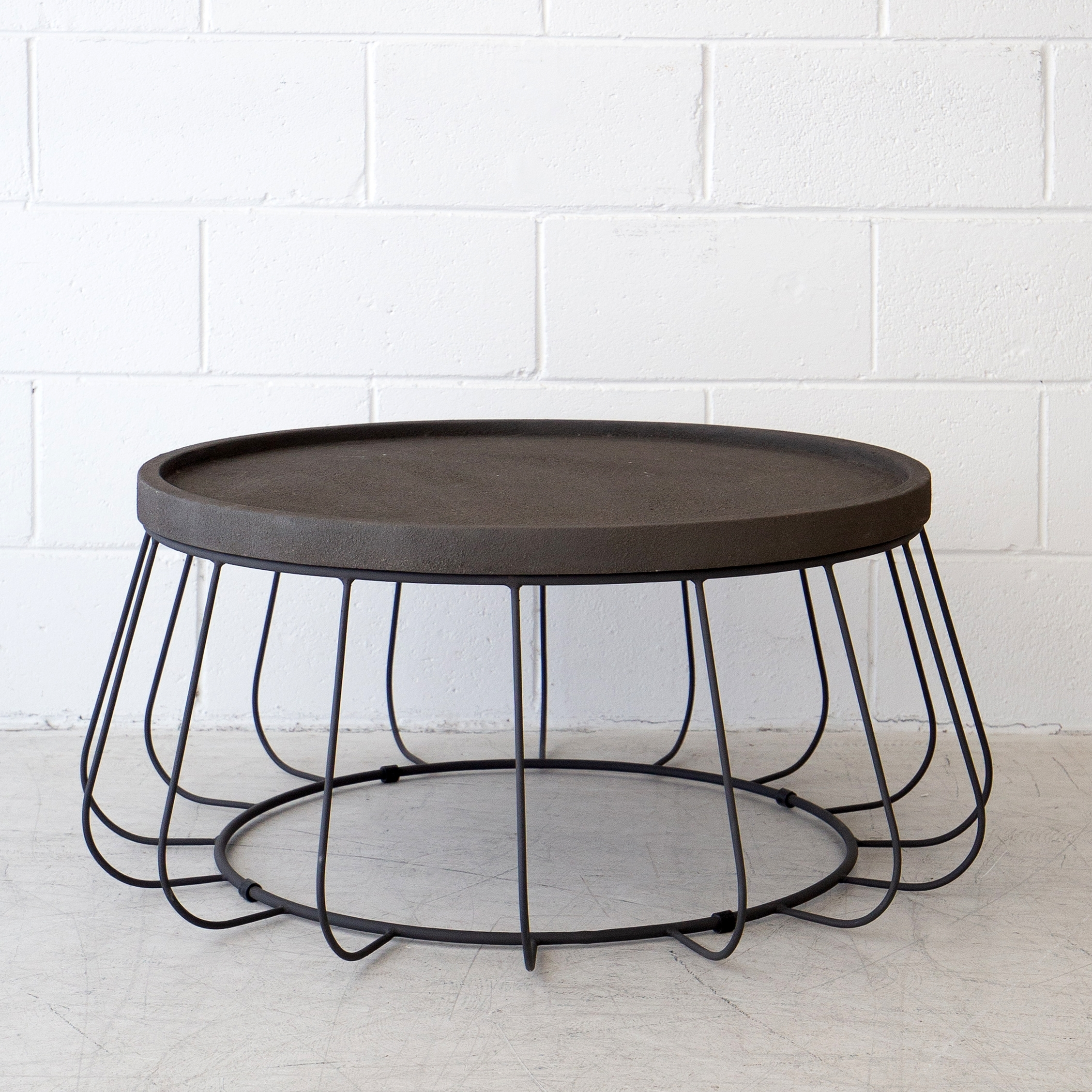 Trevi Wire Coffee Table - Black - The Beach Furniture regarding Black Wire Coffee Tables (Image 23 of 30)