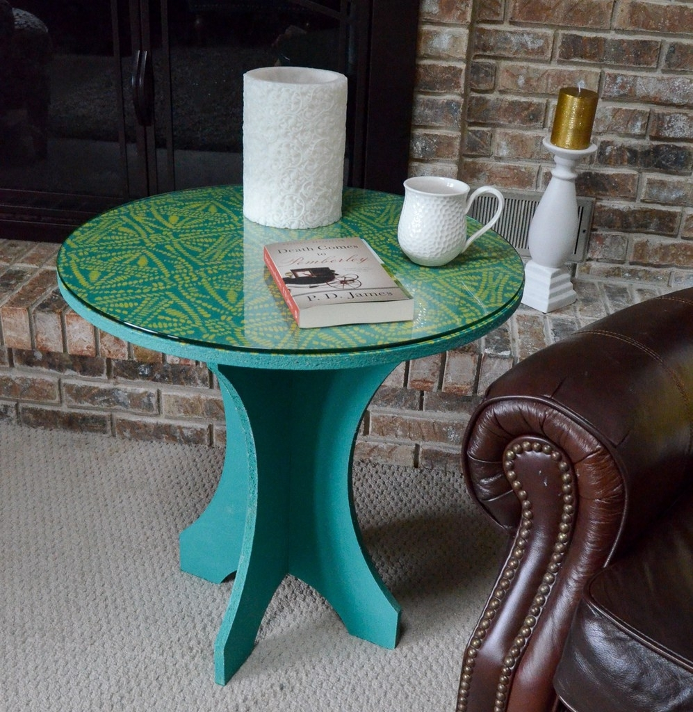 Tribal Batik Side Table - Albion Gould pertaining to Batik Coffee Tables (Image 30 of 30)