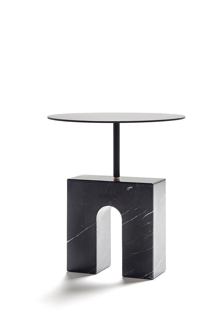 Triumph Accent Table In Marquina Marble | Dshop ☀☀— Visit Shop Regarding Jackson Marble Side Tables (Image 30 of 30)