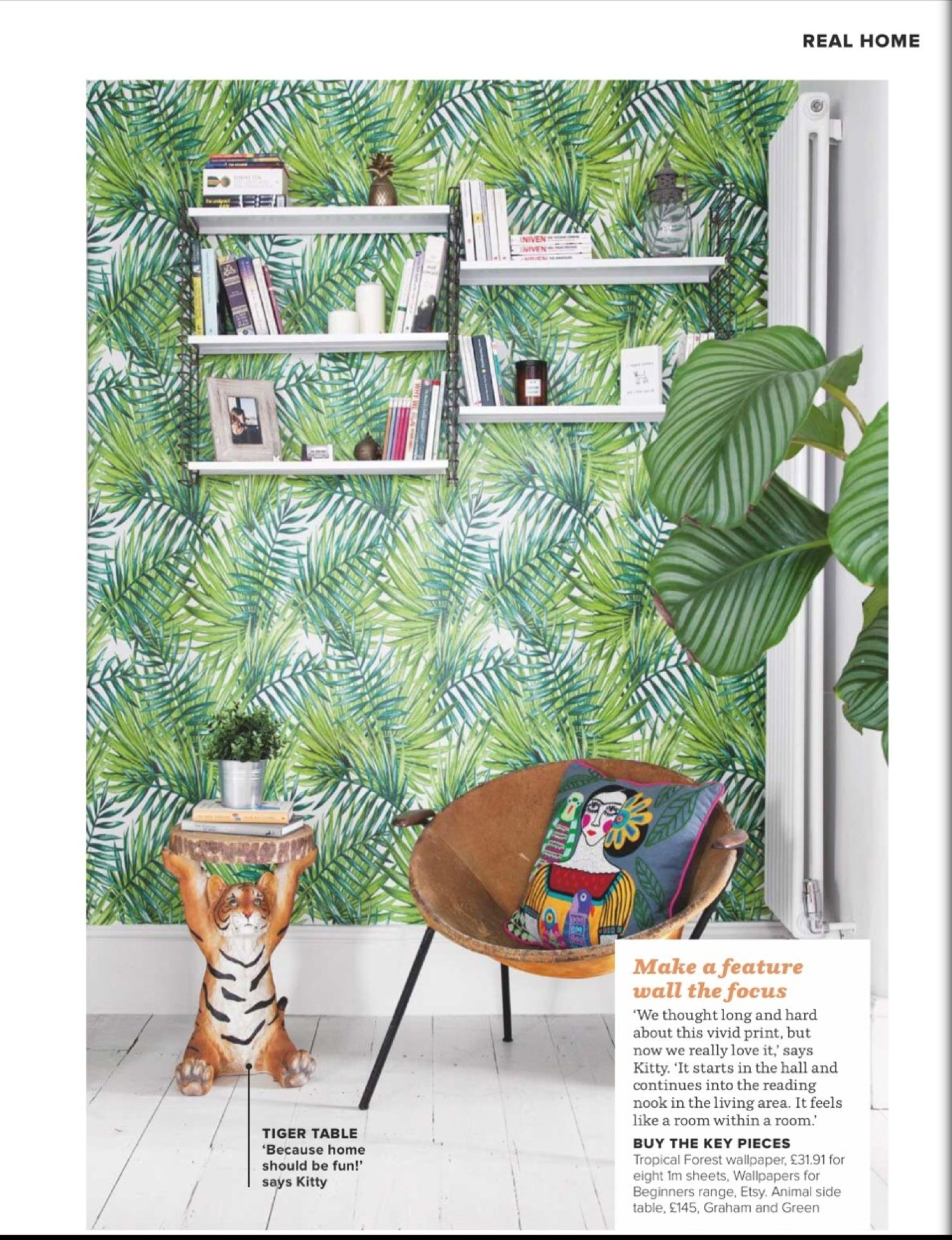 Tropical Forest Wallpaper, Tropical Wallpaper, Jungle Wallpaper With Regard To Tropical Wall Art (View 14 of 20)