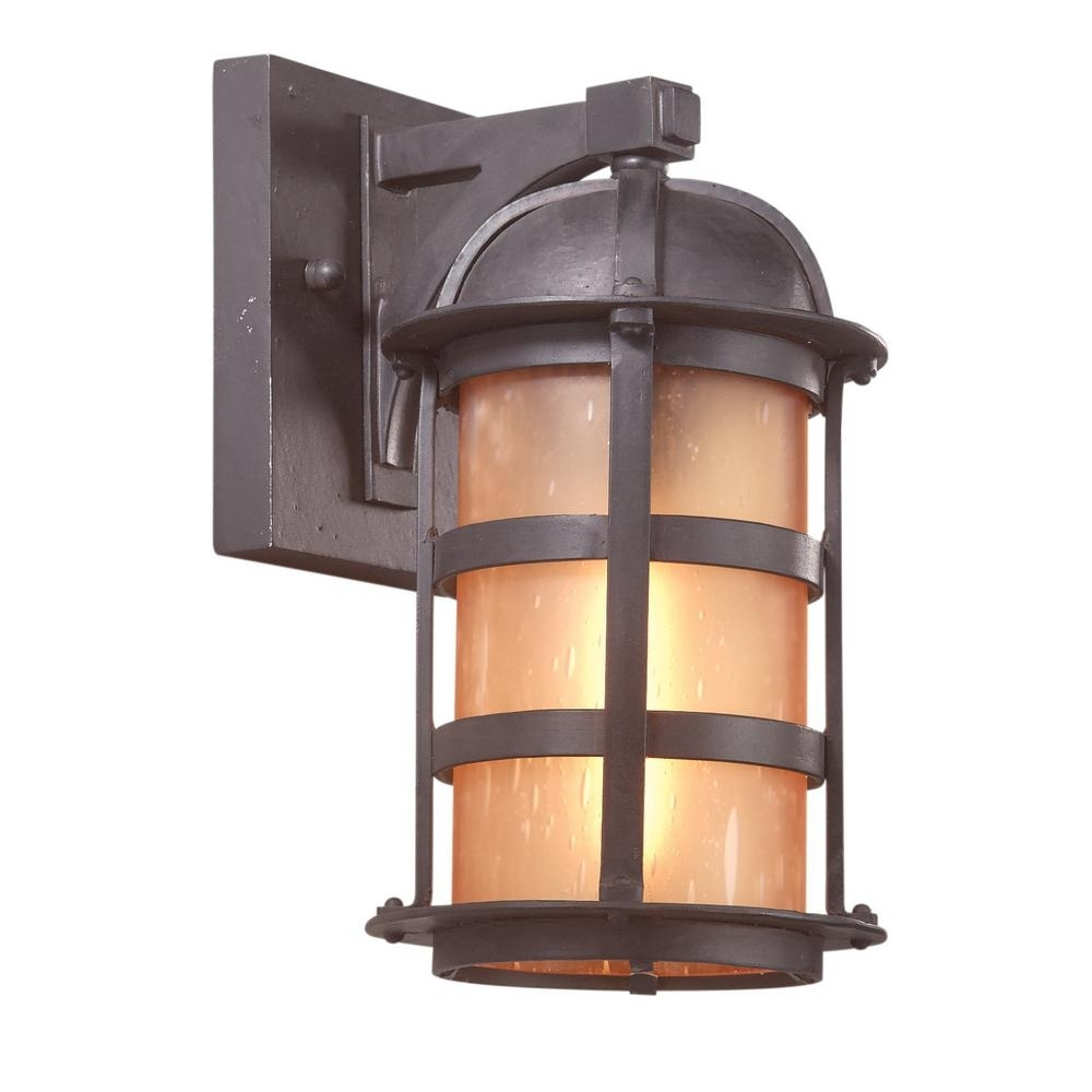Troy Lighting Aspen 1-Light Natural Bronze Outdoor Wall Mount within Cheap Outdoor Lanterns (Image 20 of 20)