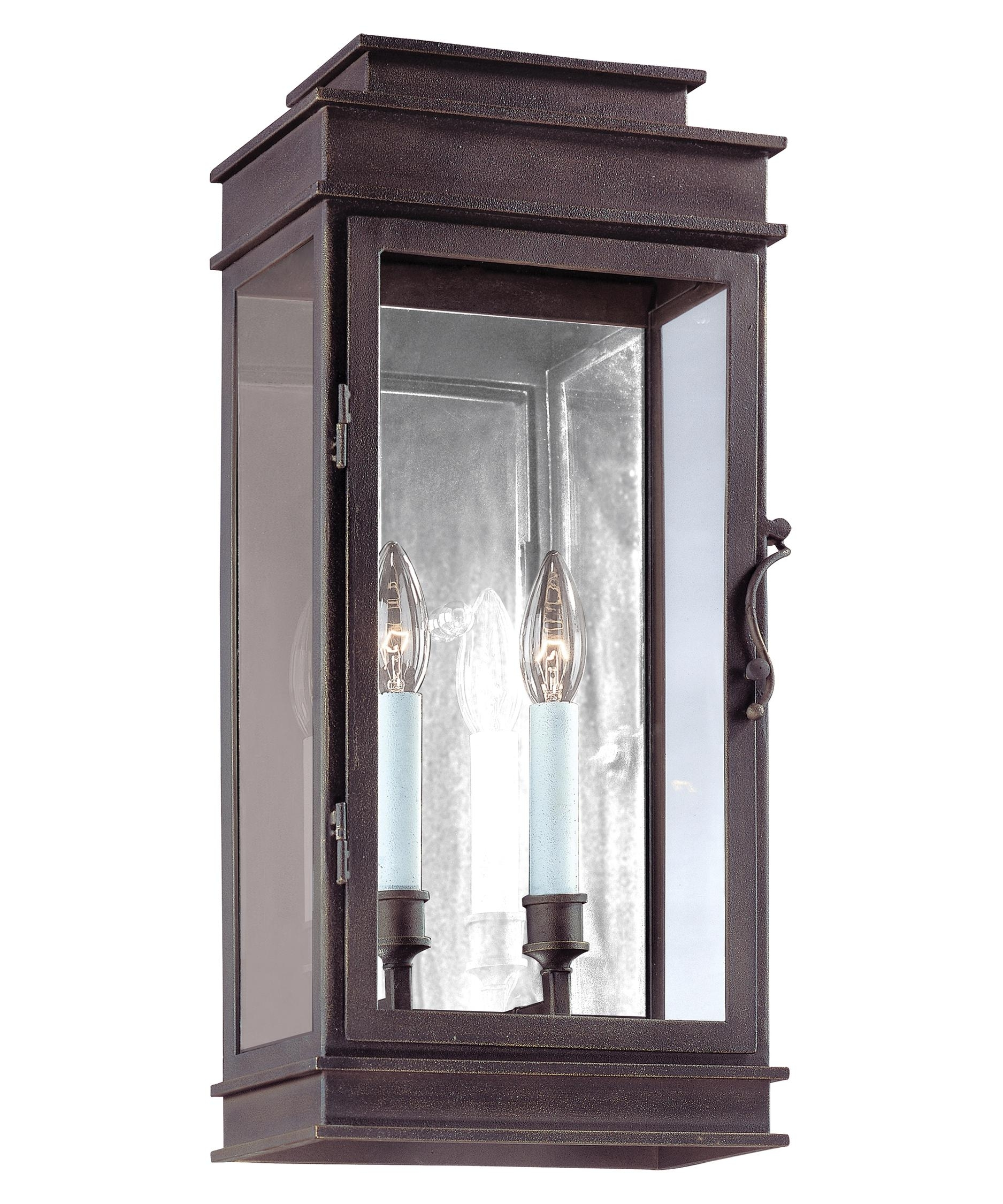 Troy Lighting B2972 Vintage 9 Inch Wide 2 Light Outdoor Wall Light in Outdoor Vintage Lanterns (Image 19 of 20)