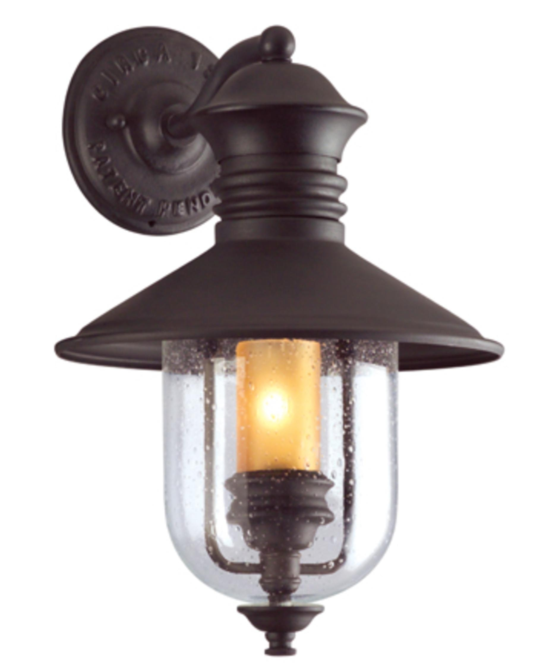 Troy Lighting B9360 Old Town 11 Inch Wide 1 Light Outdoor Wall Light throughout Outdoor Nautical Lanterns (Image 19 of 20)
