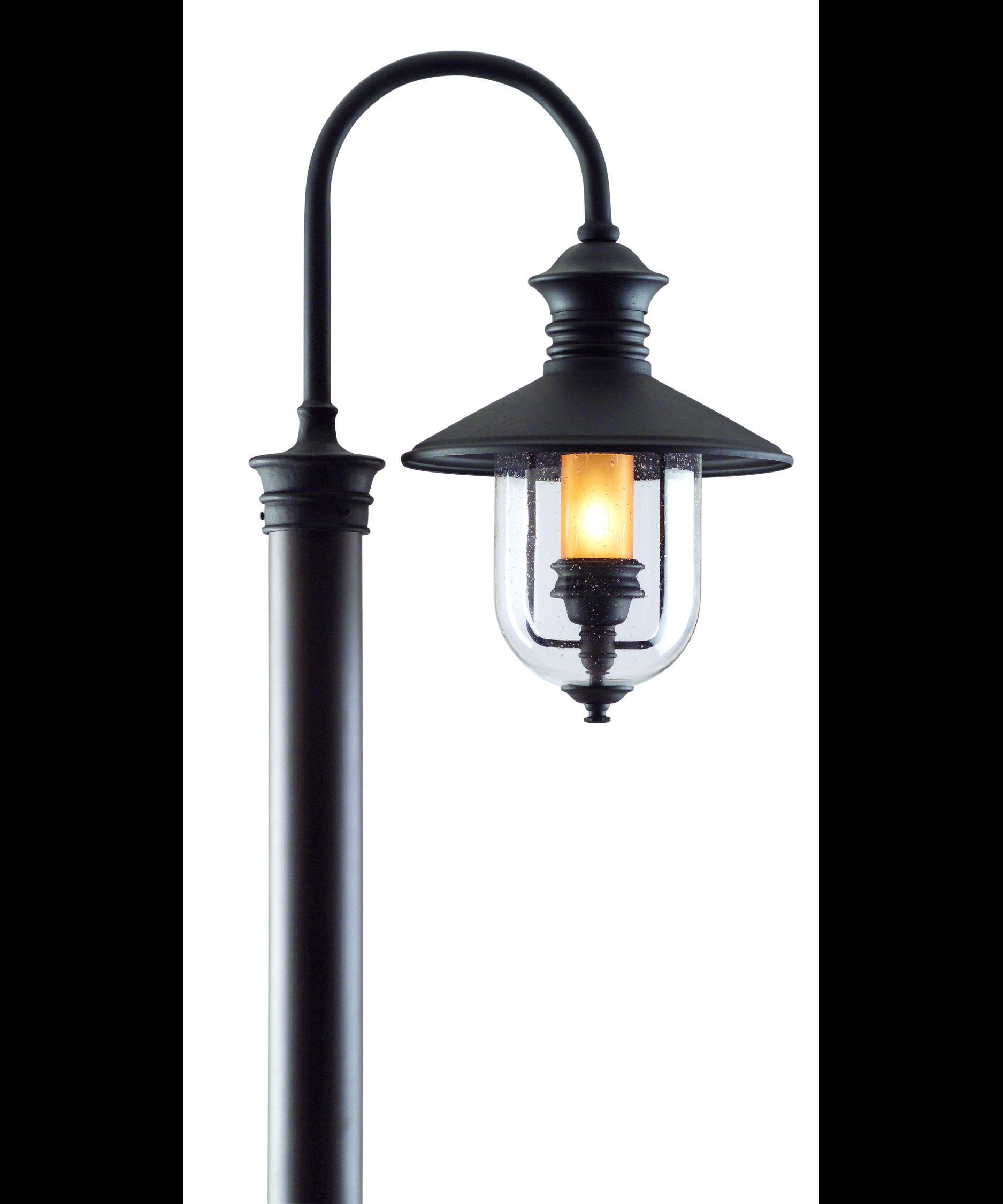 Troy Lighting P9364 Old Town 13 Inch Wide 1 Light Outdoor Post Lamp pertaining to Outdoor Lanterns for Posts (Image 18 of 20)