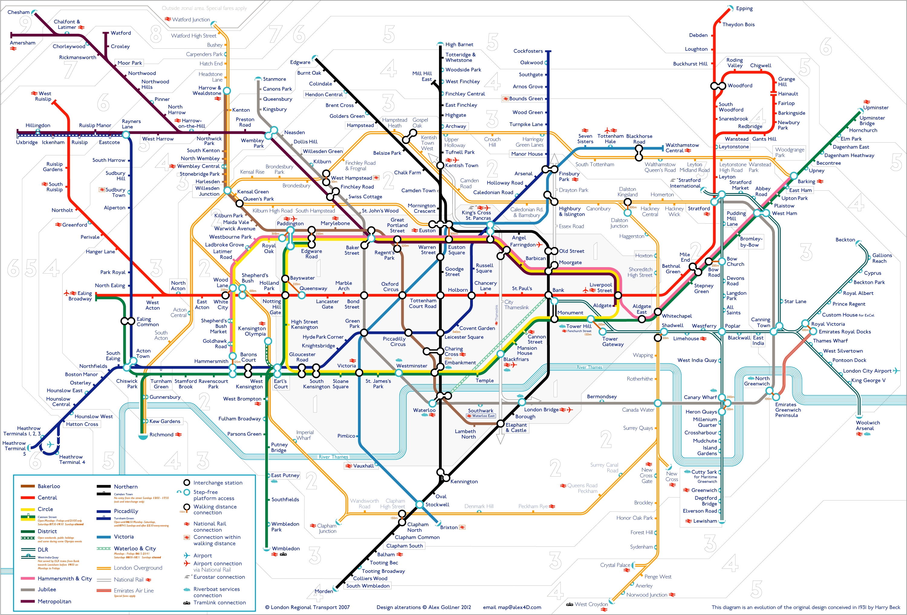 Tube Map | Alex4d Old Blog Within Tube Map Wall Art (View 10 of 20)