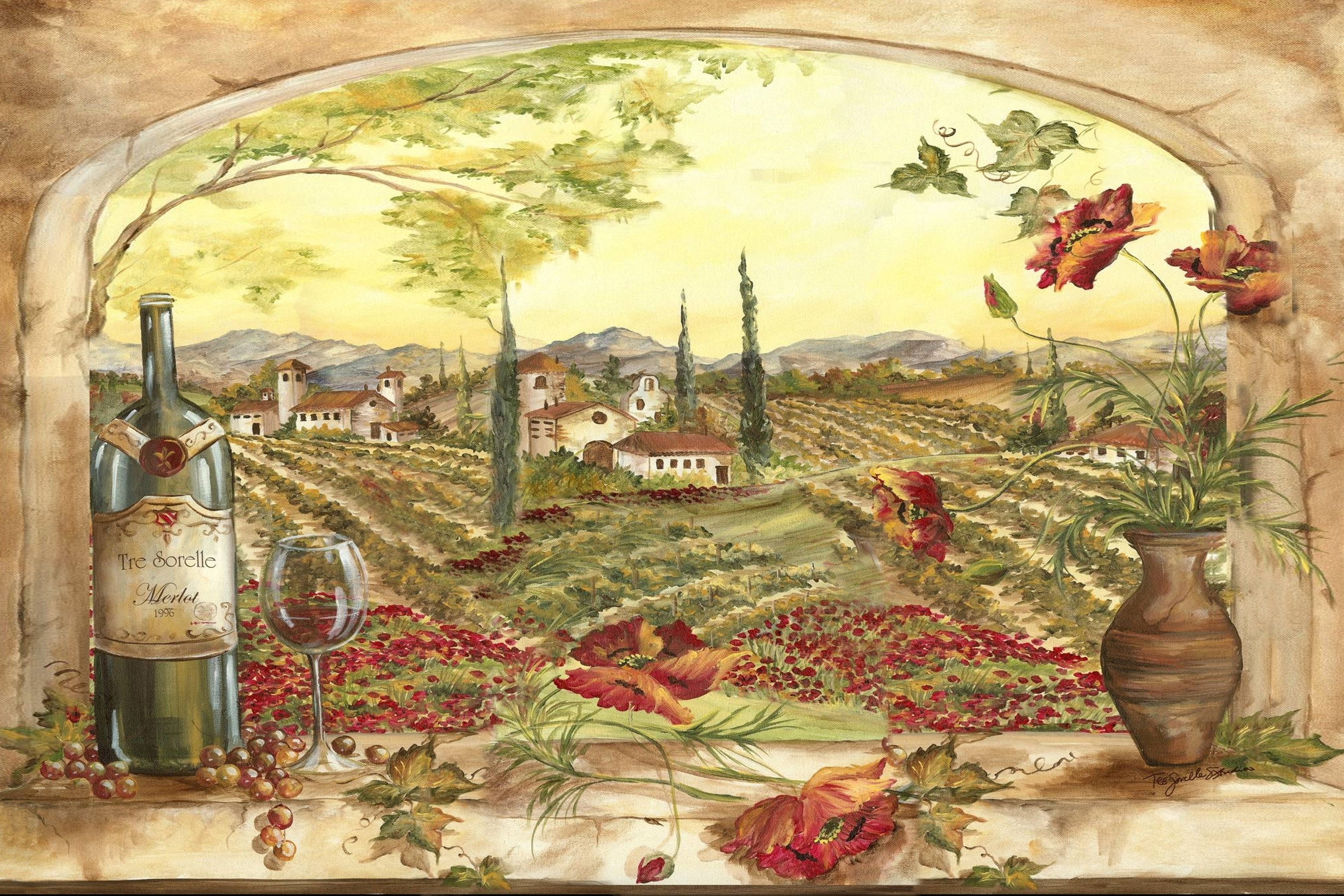 Tuscan Kitchen Wall Art World Of Example, Tuscany Kitchen Wall Art For Tuscan Wall Art (View 17 of 20)