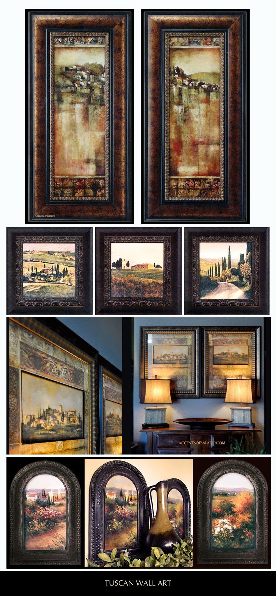 Tuscan Landscapes – Beautifully Framed Tuscan Artwork Is Our Pertaining To Tuscan Wall Art (View 7 of 20)