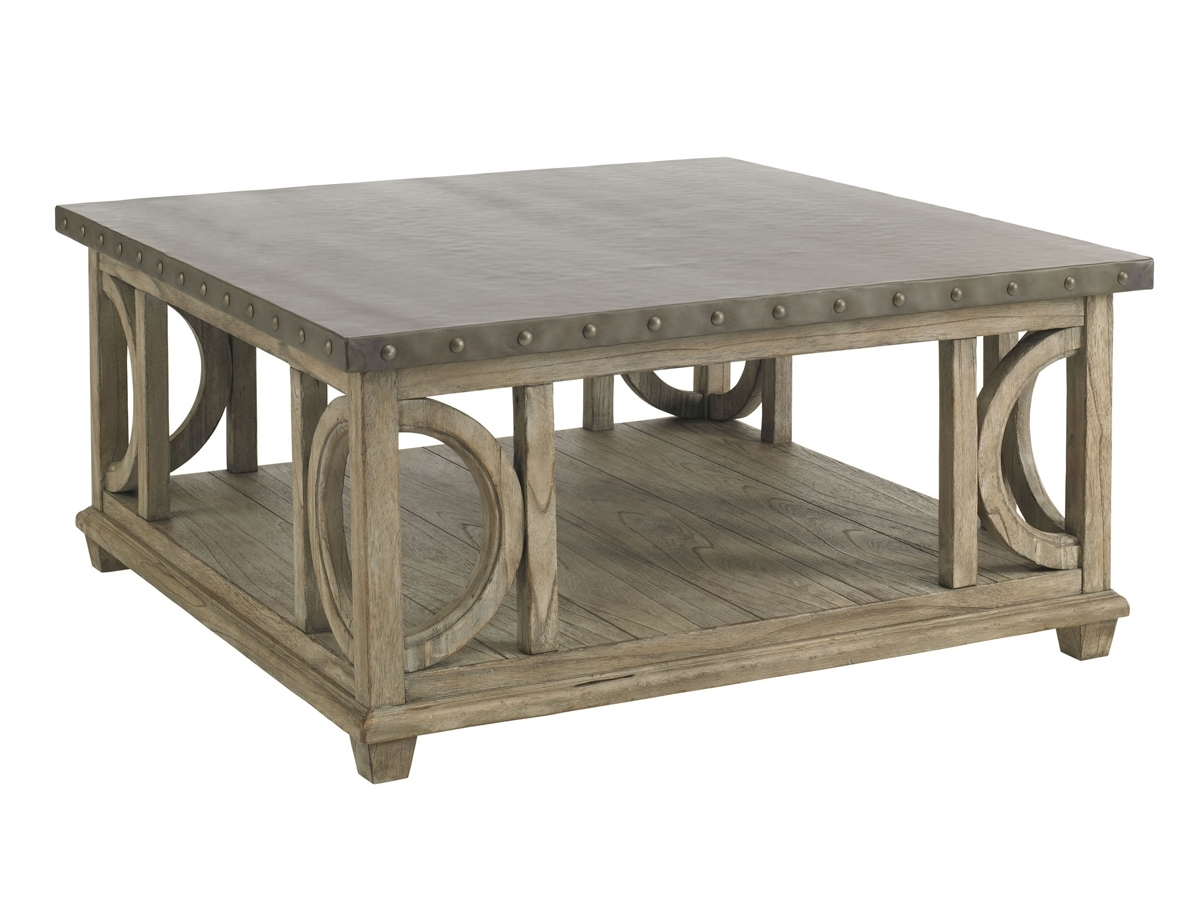 Twilight Bay Wyatt Cocktail Table | Lexington Home Brands with regard to Element Ivory Rectangular Coffee Tables (Image 28 of 30)