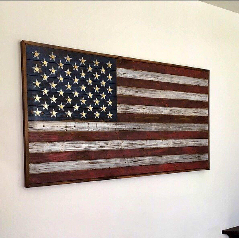 Unique Metal American Flag Wall Art | Wall Art Ideas intended for American Flag Wall Art (Image 18 of 20)