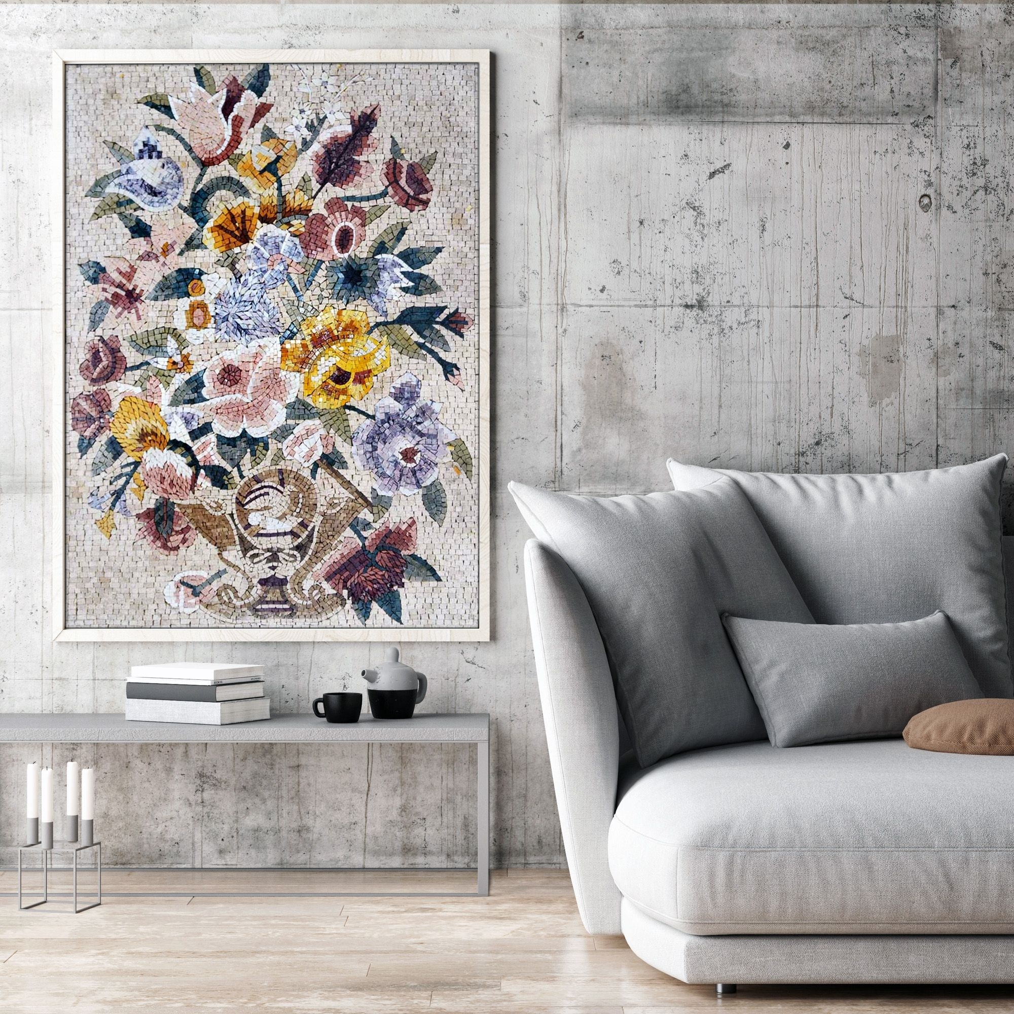 Unique Ways To Decorate Your Home With Mosaic Wall Art | Mosaic inside Mosaic Wall Art (Image 19 of 20)