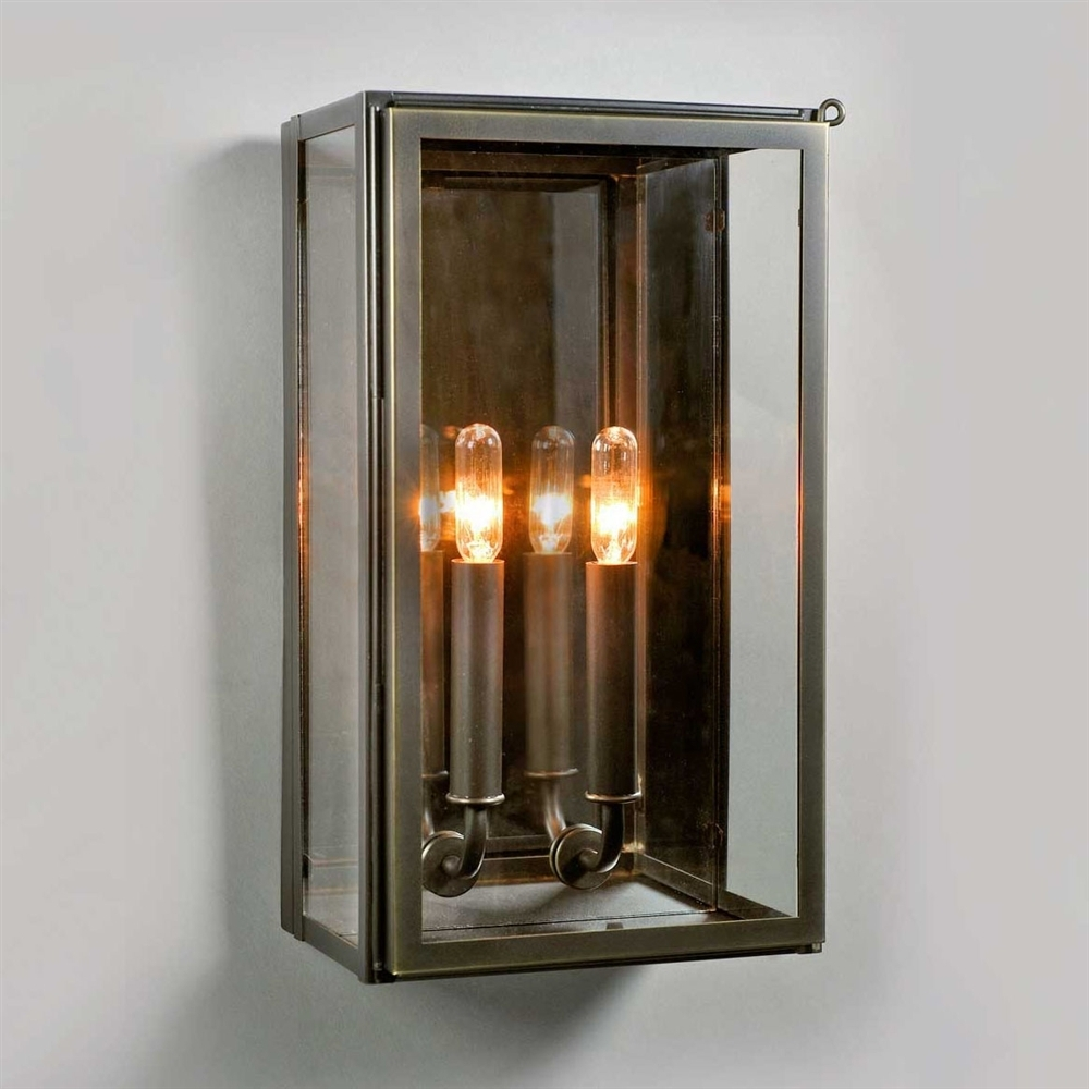Urban Electric Vic Indoor Outdoor Wall Sconce Bronze Pier Sconces with Outdoor Electric Lanterns (Image 20 of 20)