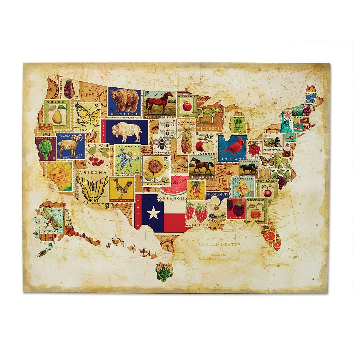 Us Map Wall Art My Blog, Us Map Wall Art – Swinki Morskie Intended For United States Map Wall Art (View 2 of 20)