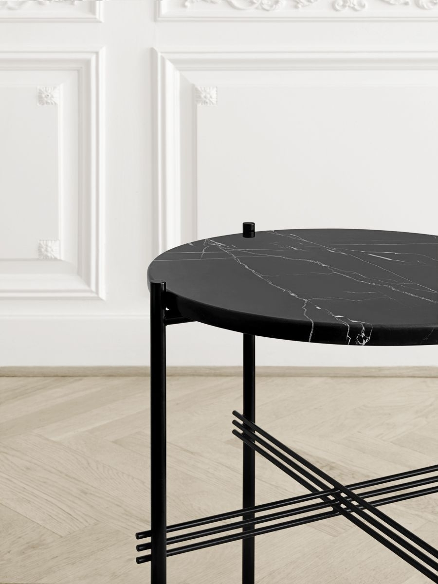 Use A Round Coffee Table With Limited Space | Coffee Table inside Suspend Ii Marble and Wood Coffee Tables (Image 30 of 30)