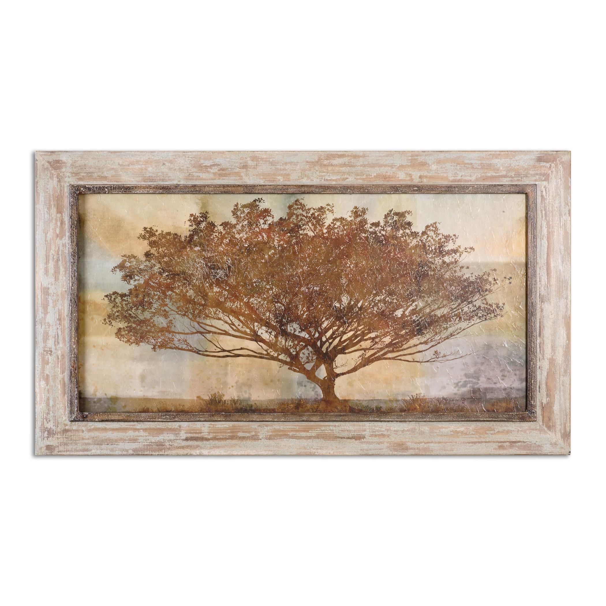 Uttermost Art 51100 Autumn Radiance Sepia Framed Art | Dunk & Bright regarding Uttermost Wall Art (Image 9 of 20)