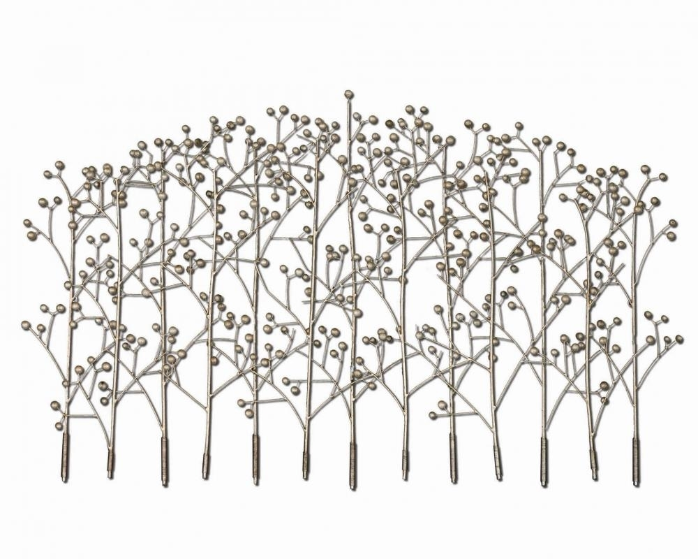 Uttermost Iron Trees Metal Wall Art : 05018 | Como Lighting & Home for Metal Wall Art Trees (Image 20 of 20)