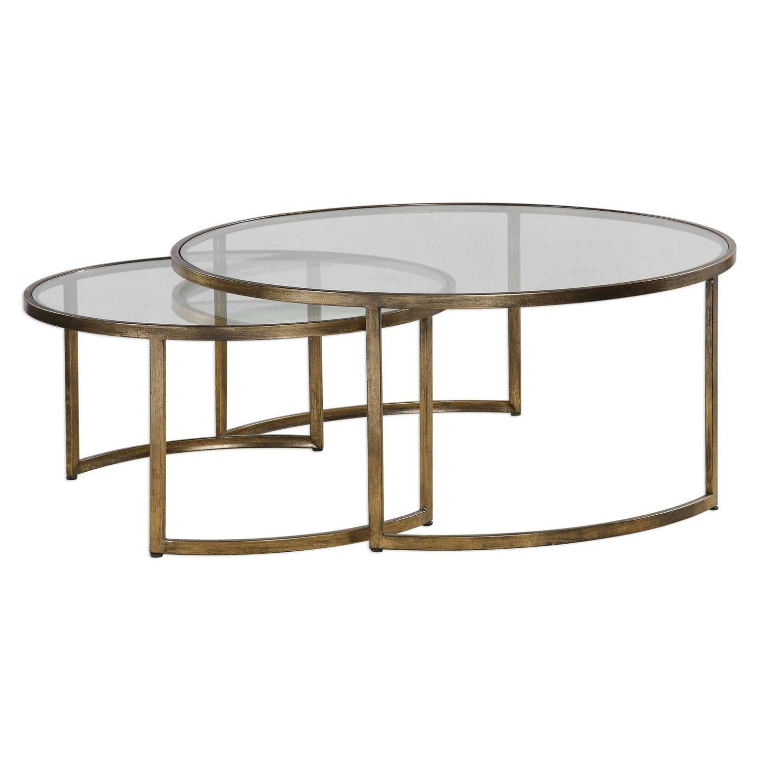 Uttermost Rhea Nested Coffee Tables, Set Of Two 24747 | Bellacor For Set Of Nesting Coffee Tables (View 30 of 30)