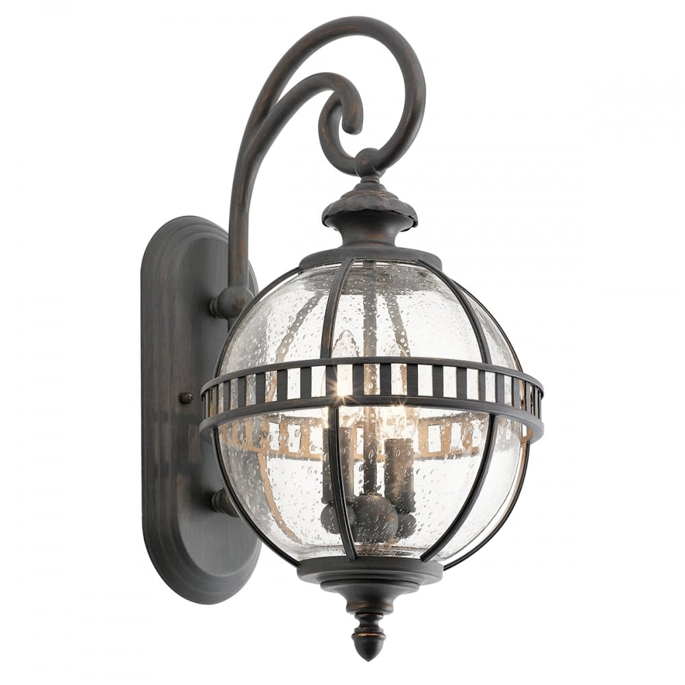 Victorian Small Globe Style Exterior Lantern In Londonderry Finish Throughout Victorian Outdoor Lanterns (View 4 of 20)