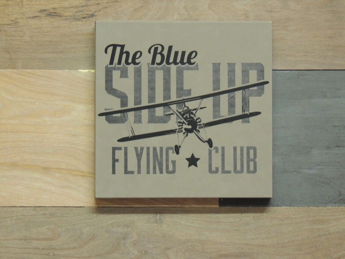 Vintage Aviation Wall Art, Blue Side Up Flying Club pertaining to Aviation Wall Art (Image 18 of 20)