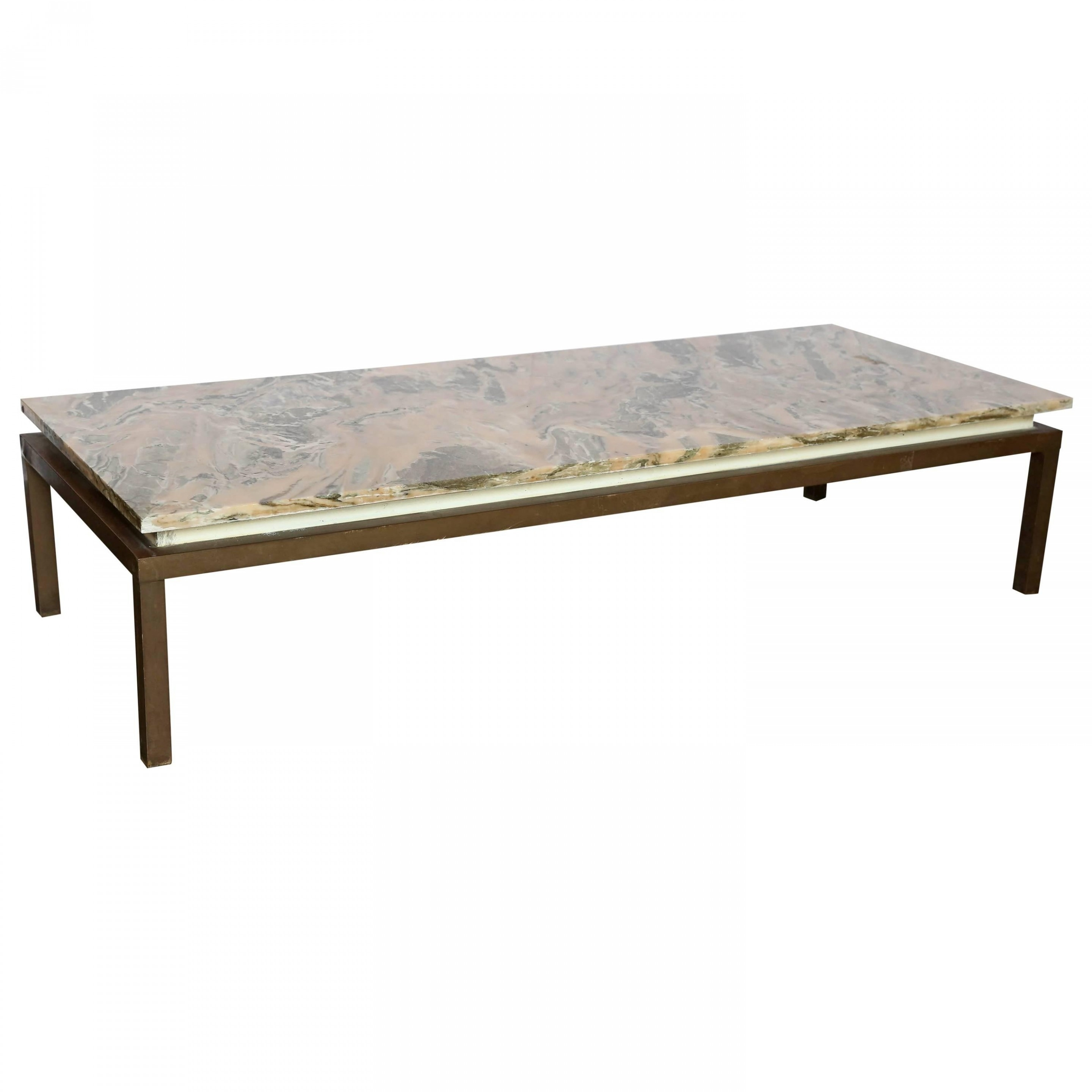 Vintage Industrial Coffee Table Lovely Mid Century Modern Marble intended for Mid-Century Modern Marble Coffee Tables (Image 30 of 30)
