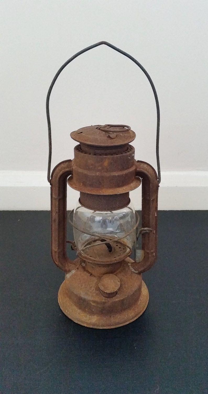 Vintage Oil Lantern, Hanging Lamp, Old Kerosene Light, Rustic with regard to Outdoor Oil Lanterns for Patio (Image 19 of 20)