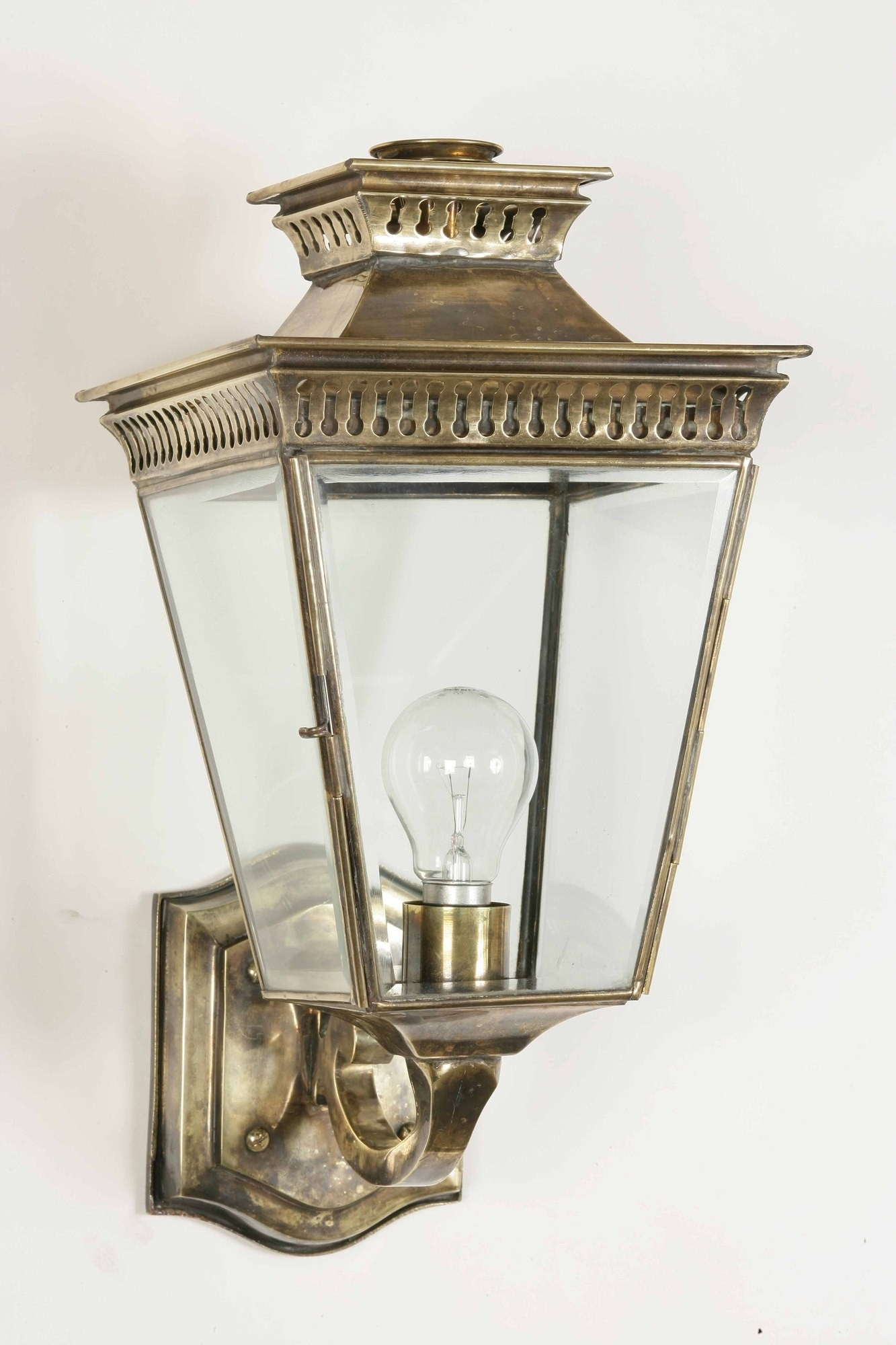 Vintage Outdoor Light Fixtures 1940s Porch Industrial Lighting Led Within Vintage Outdoor Lanterns (View 5 of 20)