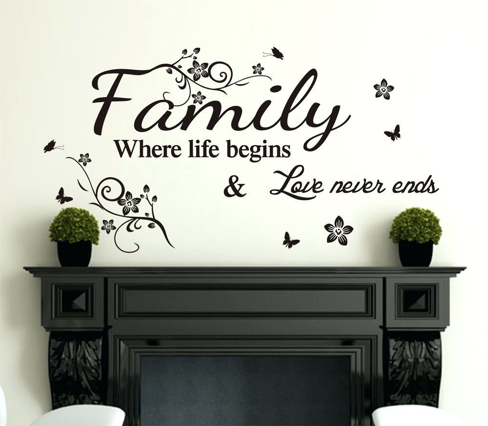 Vinyl Wall Art Sayings – Amazing Shopping Deals On Today Is A Good Throughout Wall Art Sayings (View 2 of 20)