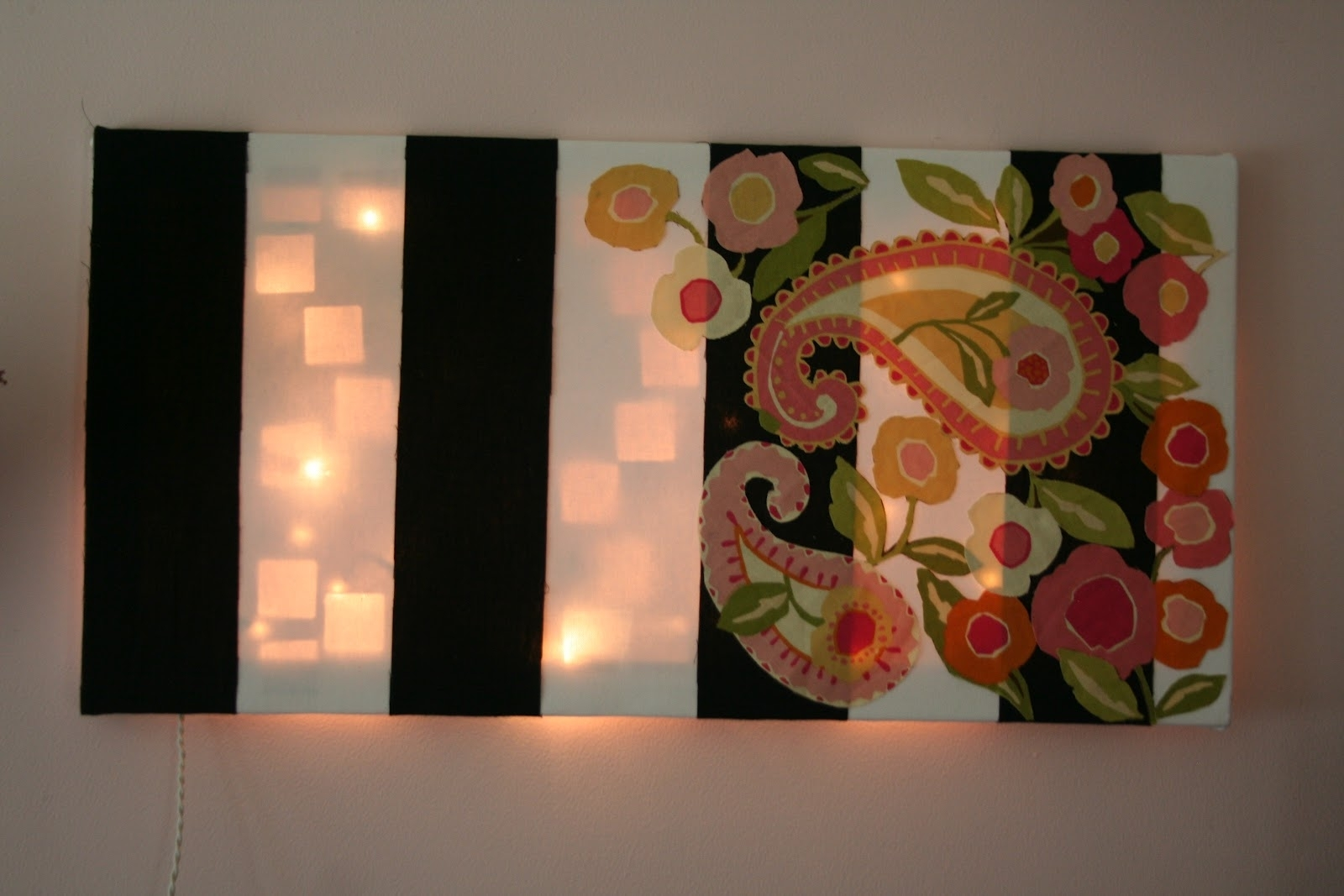 Vitamin C A Daily Dose Of Creativity: Light Up Wall Art in Light Up Wall Art (Image 17 of 20)
