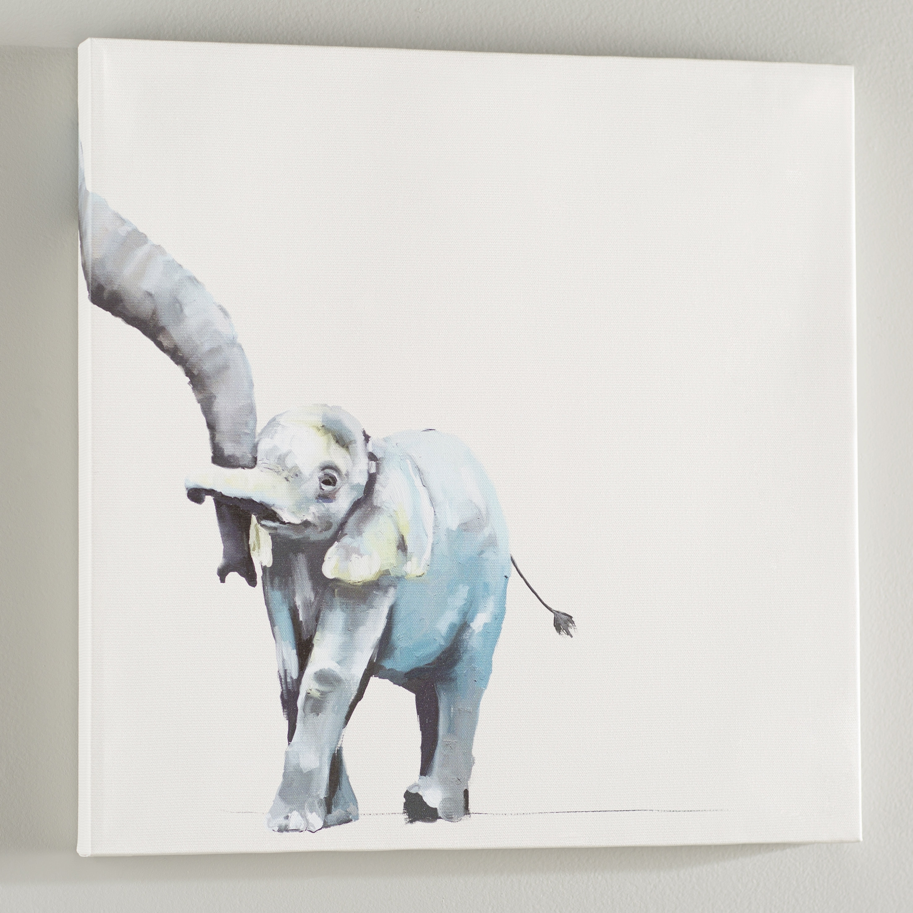 Viv + Rae Frankie You And Me Elephant Canvas Wall Art | Wayfair intended for Elephant Canvas Wall Art (Image 20 of 20)