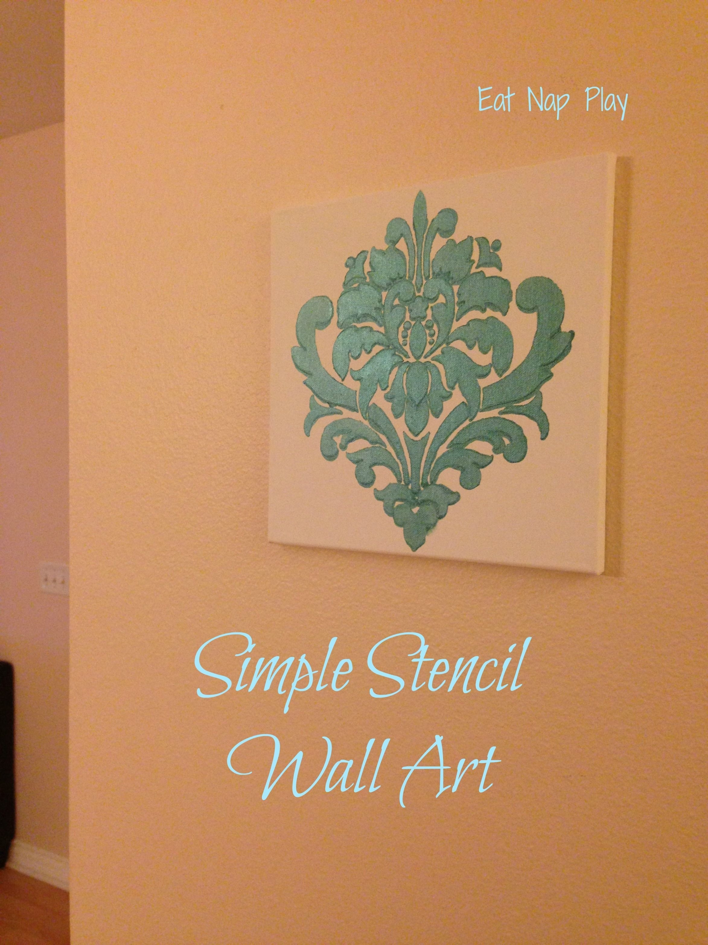 Wall Art (2346×3128) | Stencil | Pinterest | Stenciling For Stencil Wall Art (Photo 11 of 20)