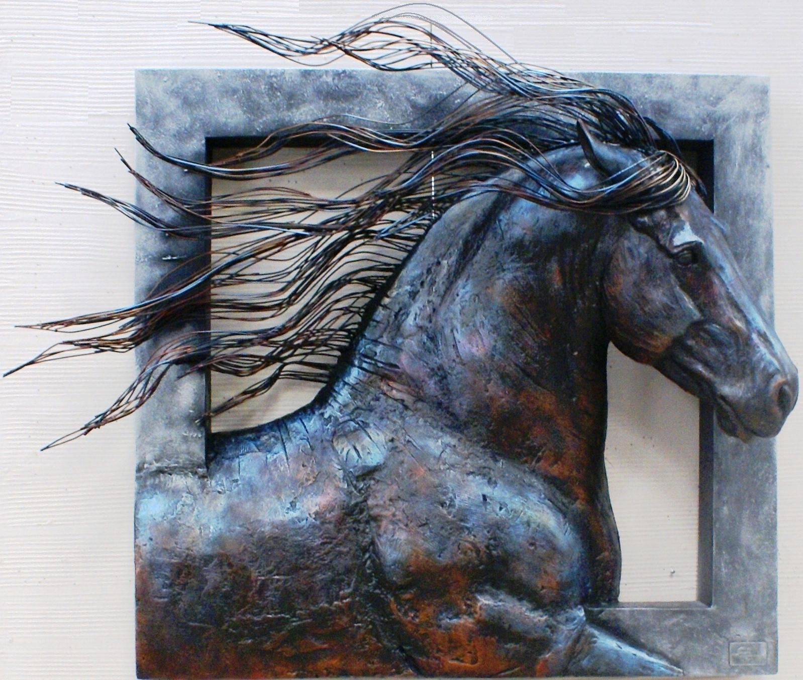 Wall Art Designs Awesome 10 Metal Wall Art Sculpture, 3D Metal Wall throughout 3D Metal Wall Art (Image 19 of 20)