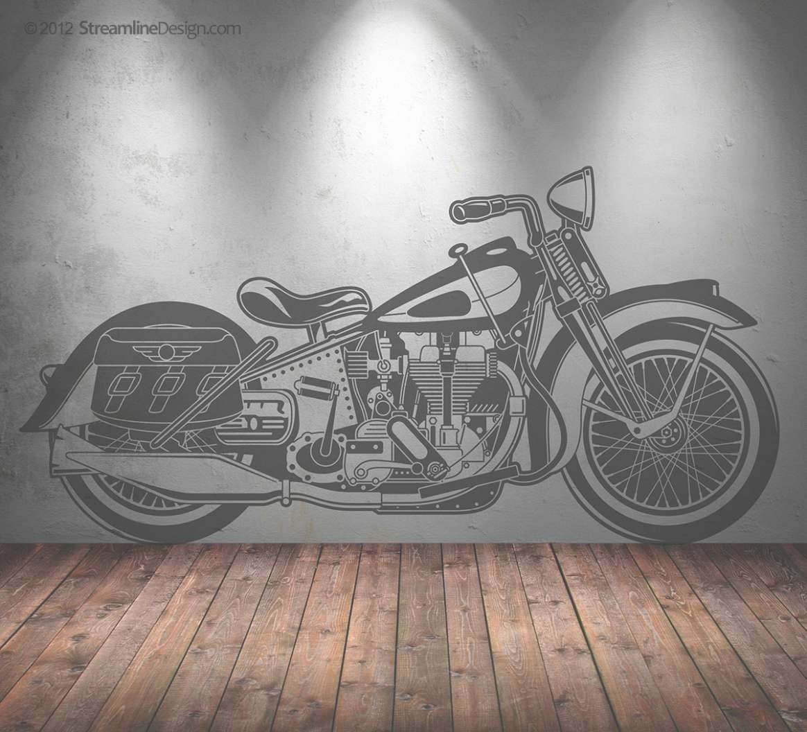 Wall Art Designs Motorcycle Wall Art Life Size Vintage Retro With throughout Motorcycle Wall Art (Image 20 of 20)