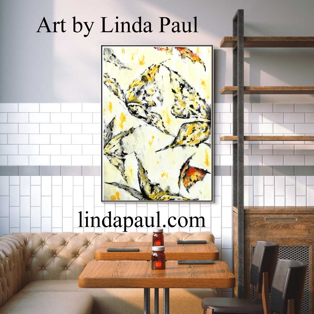 Wall Art For Restaurants And Hotels   Original Artwork And Tiles With Tile Canvas Wall Art (Photo 4 of 20)