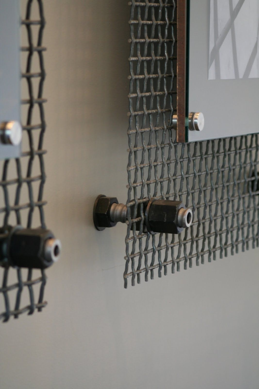 Wall Art Frame Detail Looks Like Sheet Metal, Aluminum, Industrial inside Industrial Wall Art (Image 18 of 20)