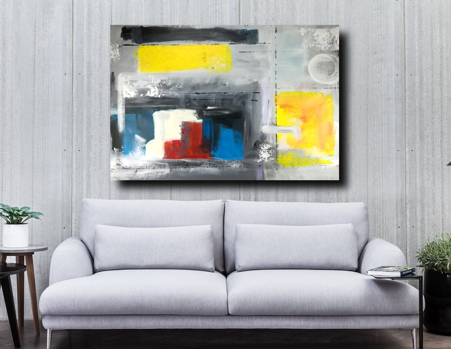 Wall Art Large Painting 120x80 Intended For Large Abstract Wall Art (View 5 of 20)