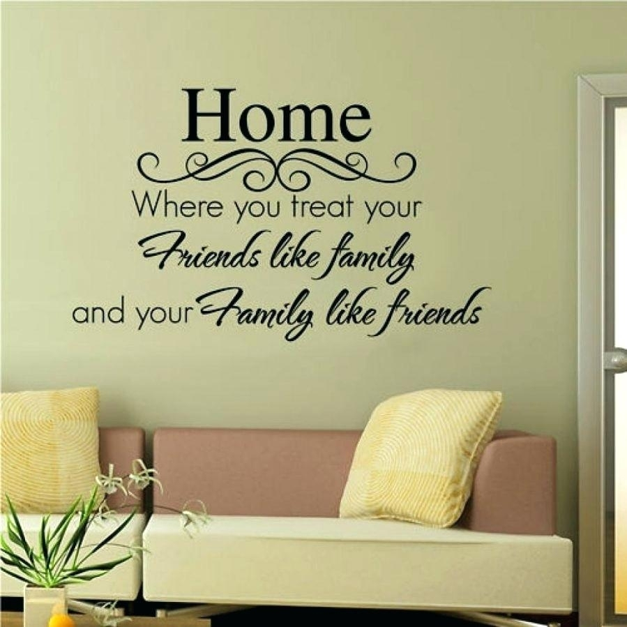 Wall Art Sayings On Wood Wall Art Decals Sayings Wall Ideas Wall With Wall Art Sayings (Photo 12 of 20)