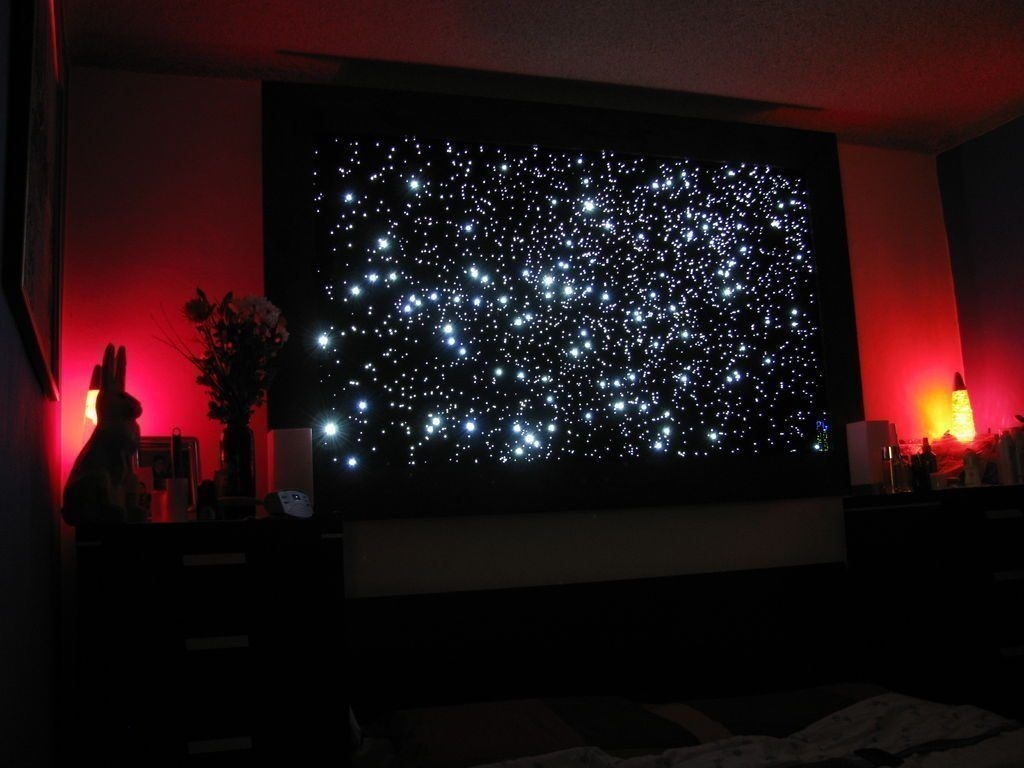 Wall: Clever Design Ideas Canvas Light Up Wall Art Christmas With Light Up Wall Art (Photo 4 of 20)