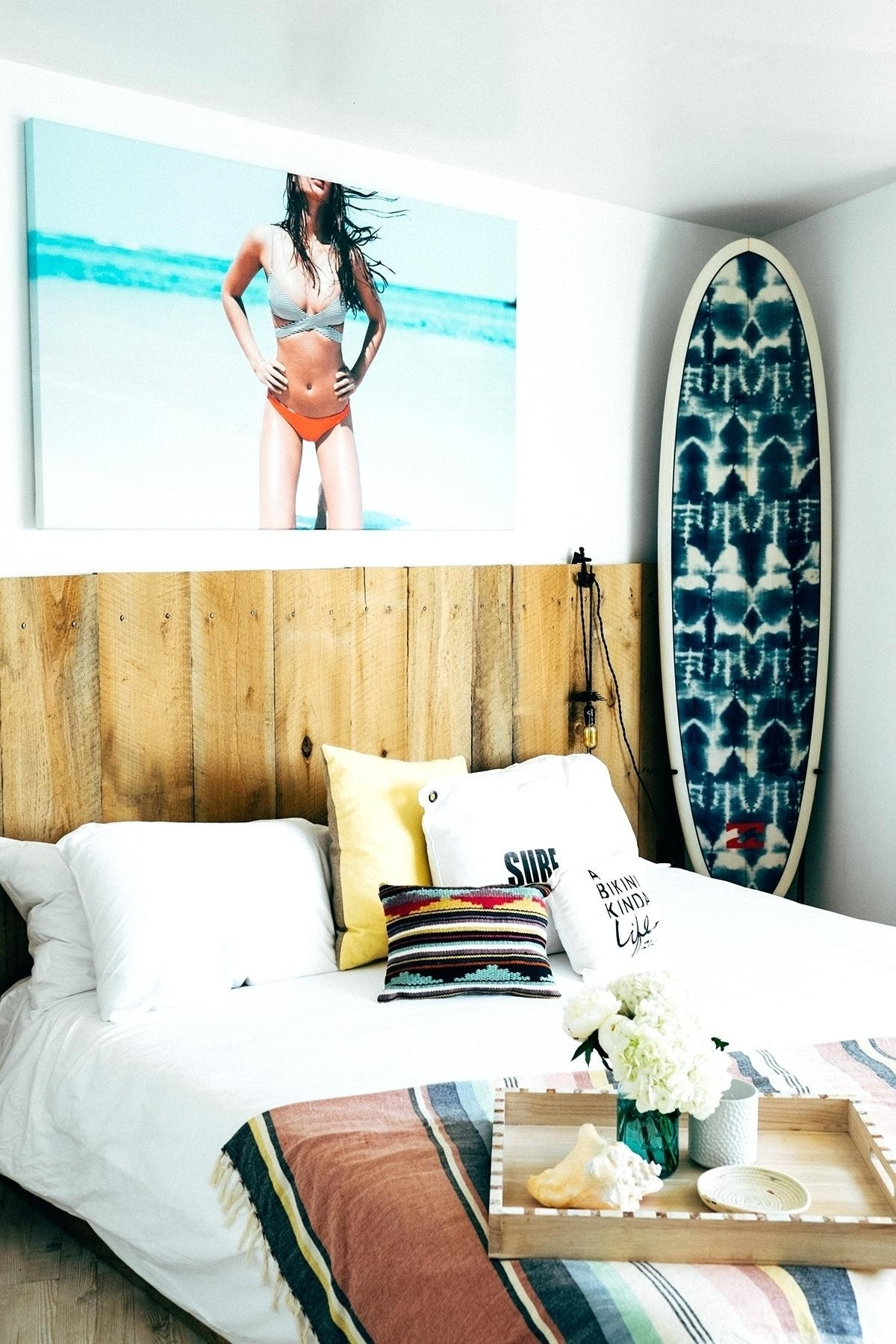 Wall Decals 4U Elegant 34 Lovely Surfboard Wall Art Home Decorations For Surfboard Wall Art (View 17 of 20)