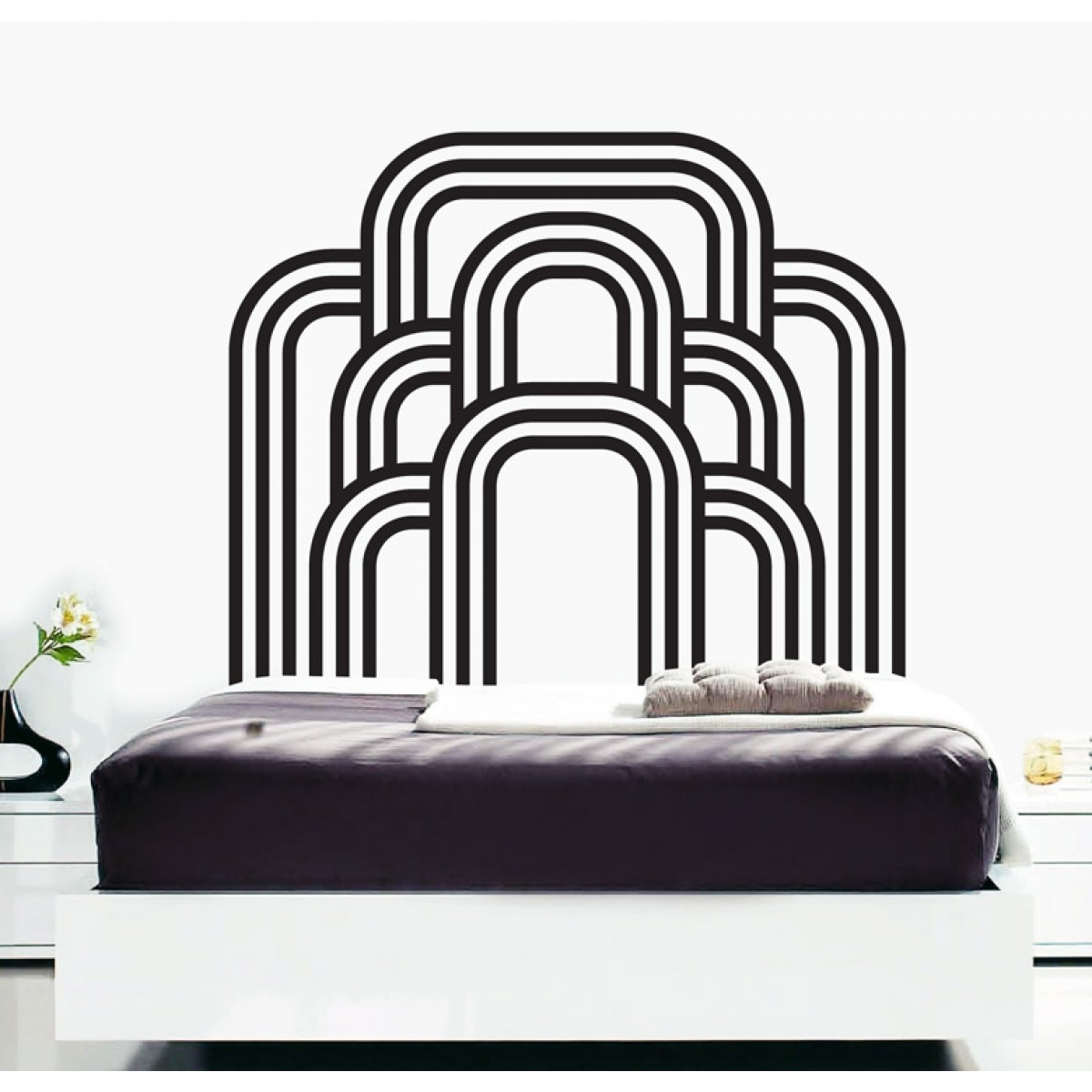 Wall Decals – Thewonderwalls® | Bedroom Art Deco Wall Stickers For Art Deco Wall Art (View 9 of 20)