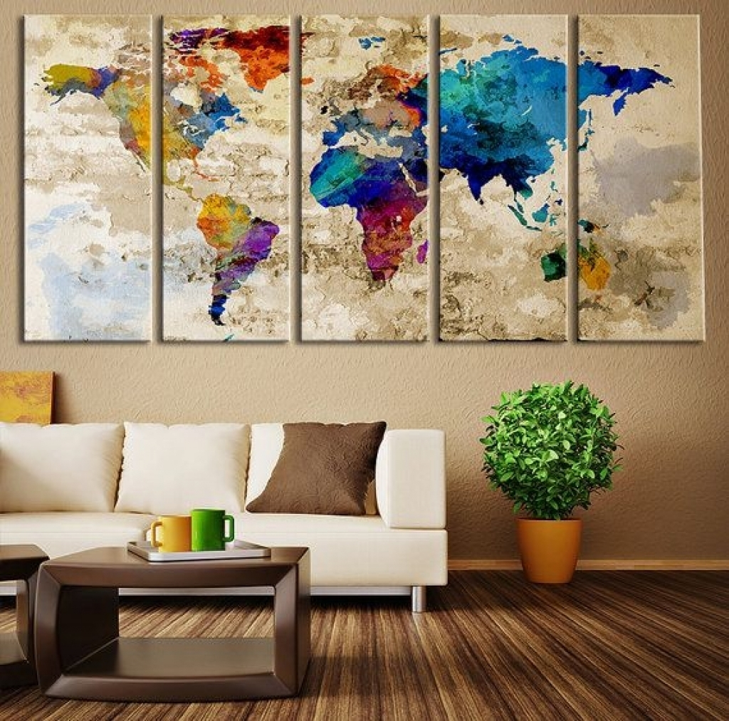 Wall Decor Art Canvas 1000 Ideas About Large Wall Art On Pinterest intended for Fabric Wall Art (Image 20 of 20)