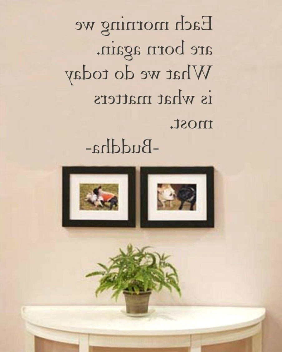 Wall Decor Quotes On Canvas Inspirational Image Gallery Of Framed Throughout Wall Art Sayings (View 15 of 20)