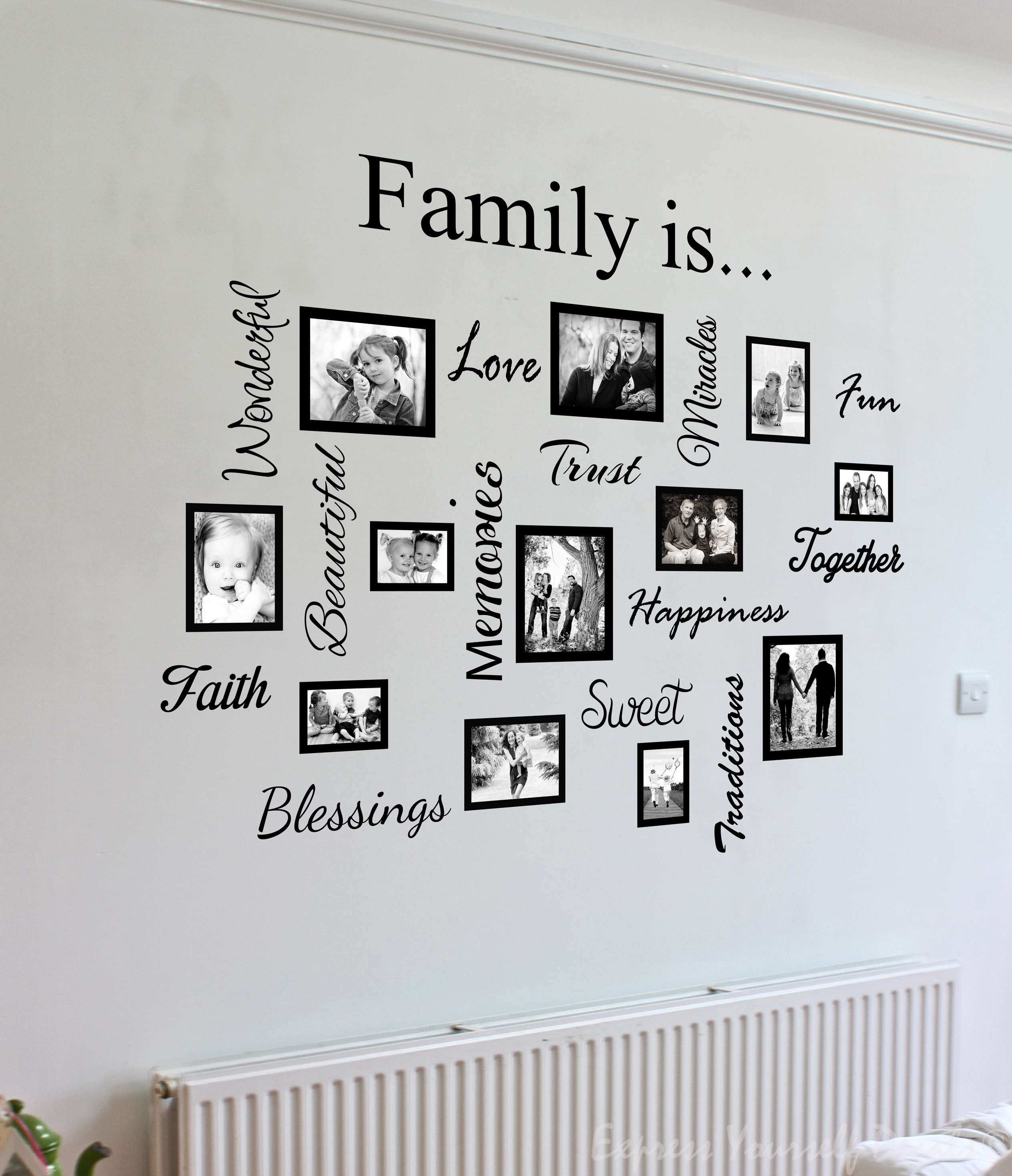 Wall Decor Sayings Inspirational Family Sayings Wall Art Takuice Inside Wall Art Sayings (Photo 10 of 20)
